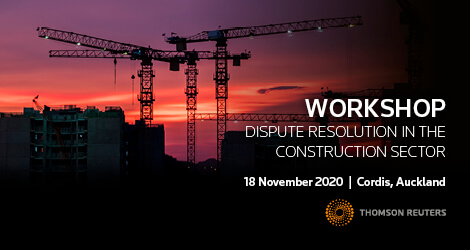 Workshop: Dispute Resolution in the Construction Sector