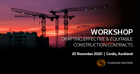 Workshop: Drafting Effective and Equitable Construction Contracts
