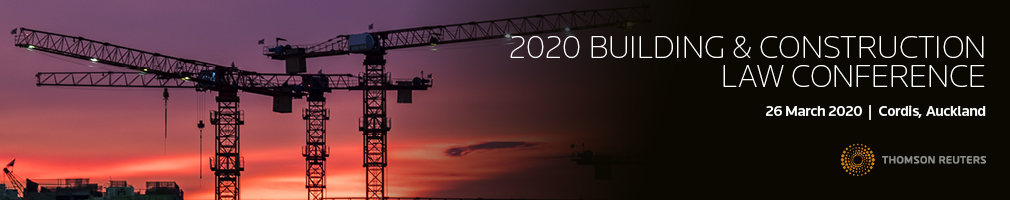Building and Construction Law Conference 2020