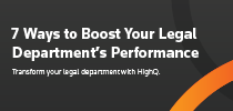 7 Ways to boost your legal department's performance